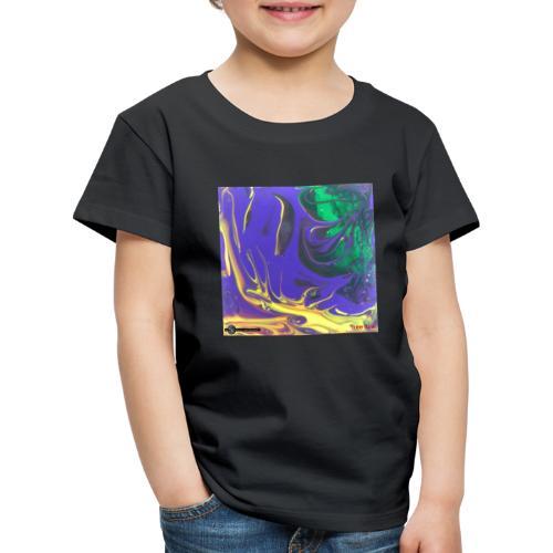 TIAN GREEN Mosaik DK010 - Free flow - Kinder Premium T-Shirt