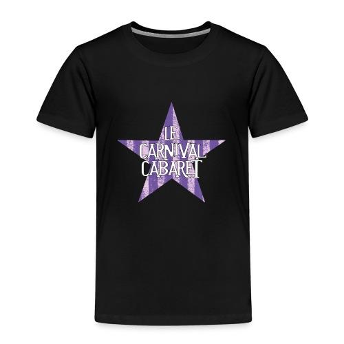 bonnet LCC noir etoie violette - Kids' Premium T-Shirt