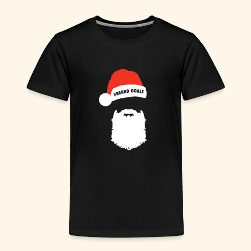 Beard Goals Santa - Kids' Premium T-Shirt