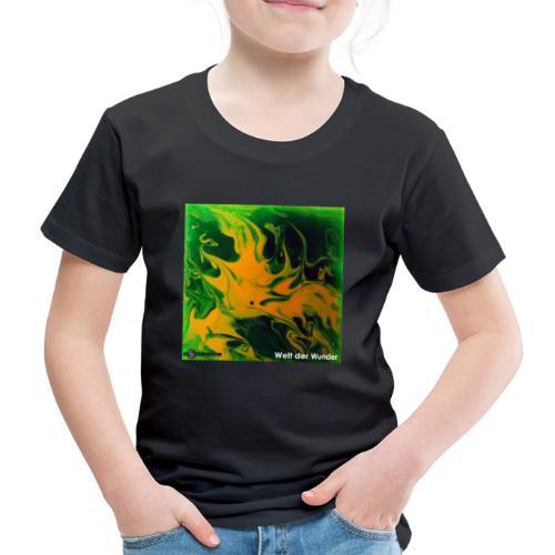 TIAN GREEN Mosaik DE002 - Welt der Wunder - Kinder Premium T-Shirt