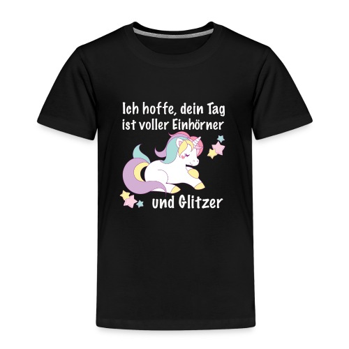 einhorntag - Kinder Premium T-Shirt