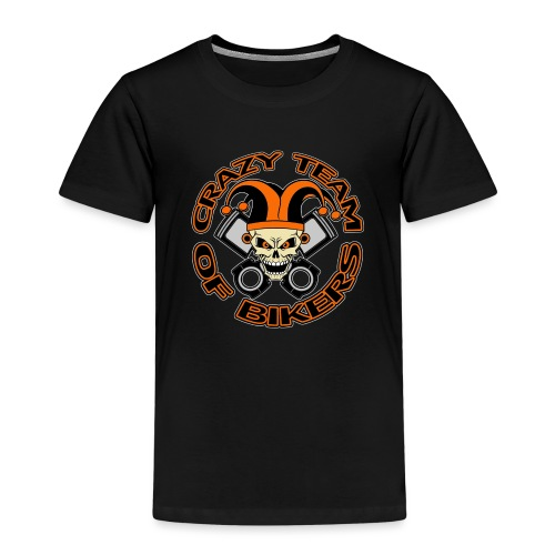 Crazy Team of Bikers Logo Copie officiel trans png - T-shirt Premium Enfant