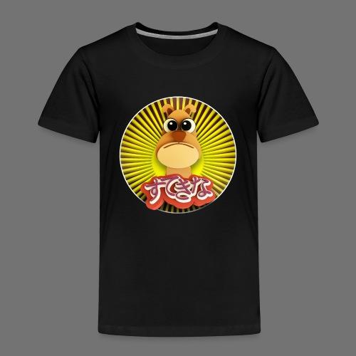 Söpö koira - Lasten premium t-paita