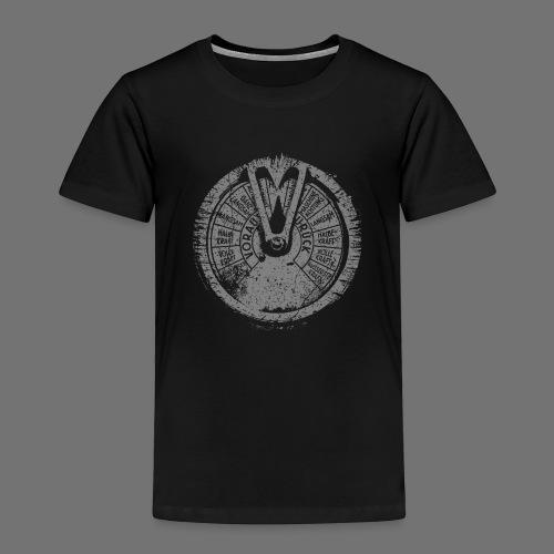Maschinentelegraph (grey oldstyle) - Kinder Premium T-Shirt