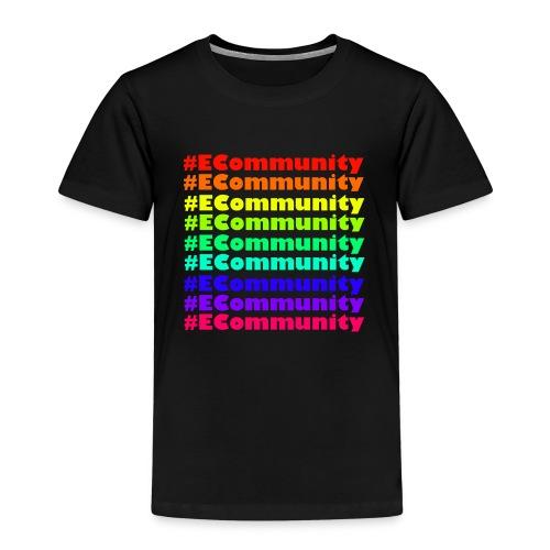 Ecommunity Rainbow - Kinder Premium T-Shirt