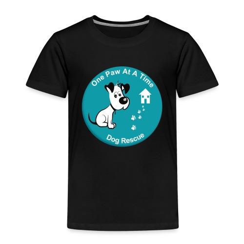 One Paw at a Time Logo - Kids' Premium T-Shirt