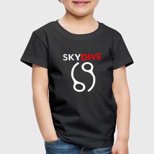 Skydive Pin 69 White - Kinder Premium T-Shirt
