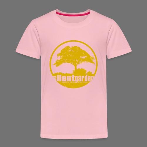 hiljainen puutarha (keltainen oldstyle) - Lasten premium t-paita