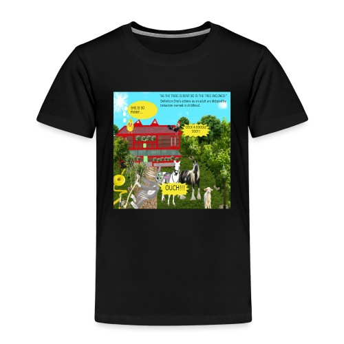 AS THE TWIG IS BENT,SO IS THE TREE INCLINED - Kids' Premium T-Shirt