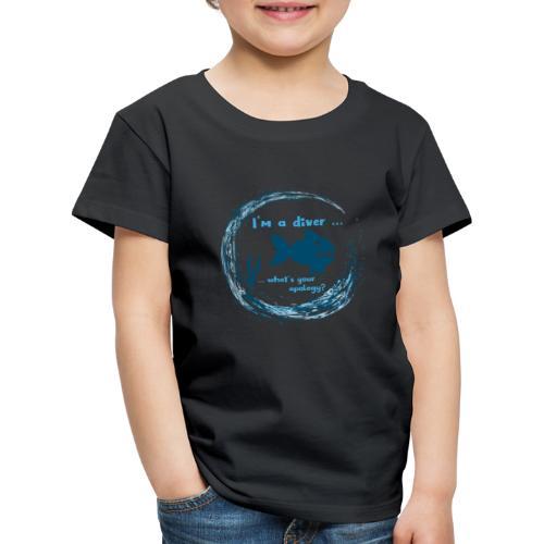 Diver - Kinder Premium T-Shirt