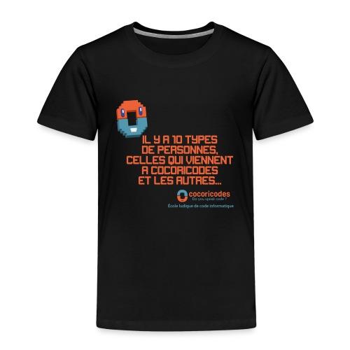 10 types de personnes - T-shirt Premium Enfant