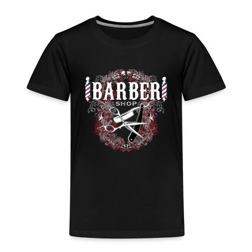 Barber Shop_03 - Maglietta Premium per bambini