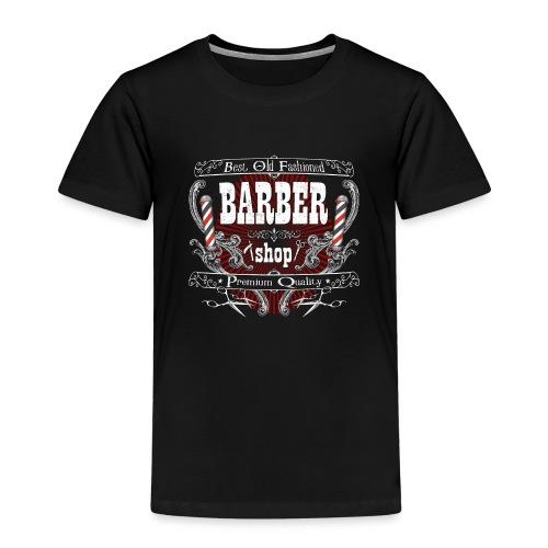 Barber Shop_05 - Maglietta Premium per bambini