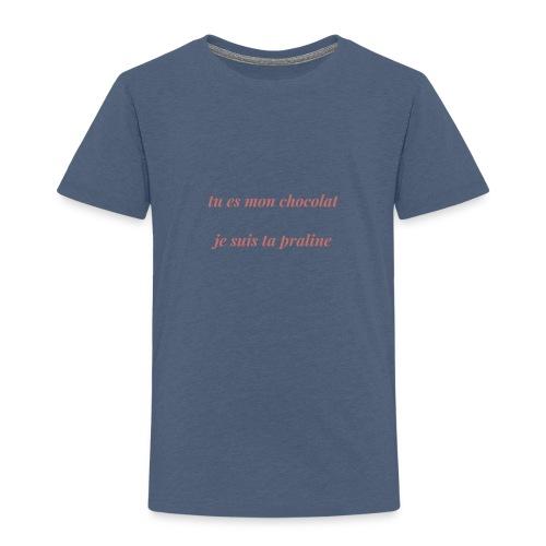 Tu es mon chocolat clair - T-shirt Premium Enfant
