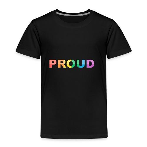 Proud - Camiseta premium niño