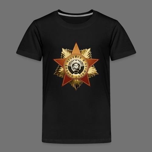 Kosmonautti mitali - Lasten premium t-paita