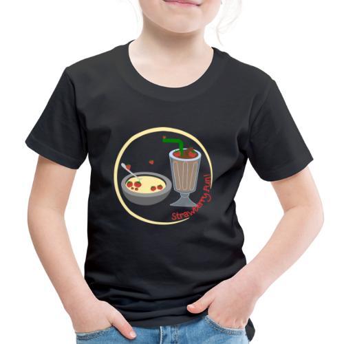 Strawberry Fun - Børne premium T-shirt