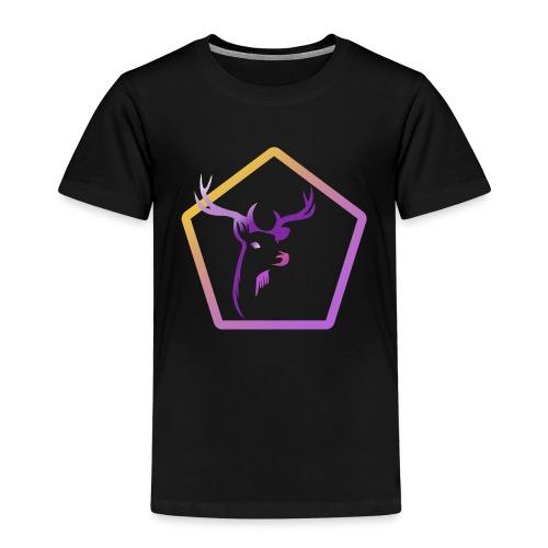 Cerf Pentagone - T-shirt Premium Enfant