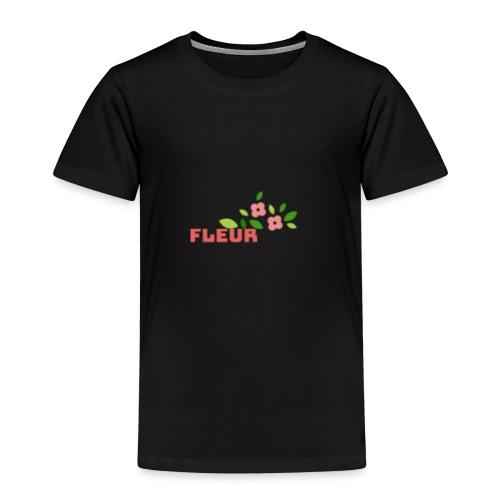 fleur - Børne premium T-shirt