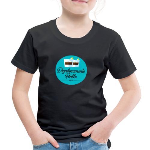 DIGNITOSAMENTE BRILLO - Maglietta Premium per bambini