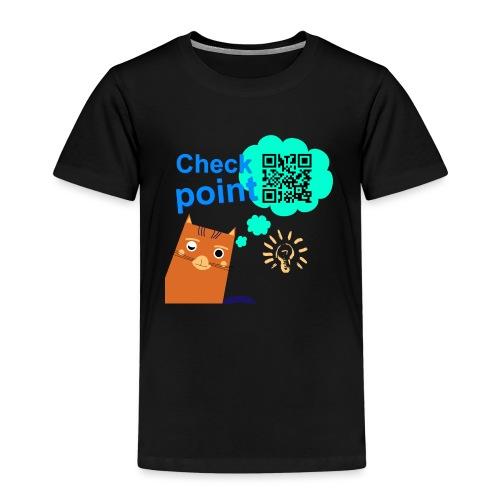 Duna Checkpoint - Premium T-skjorte for barn