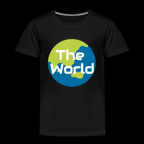 The World Earth - Børne premium T-shirt