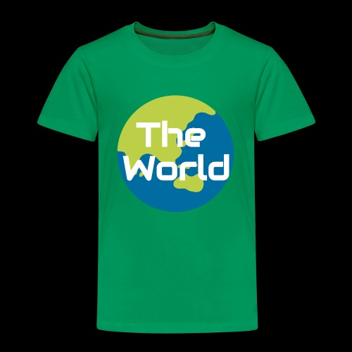 The World Earth - Børne premium T-shirt