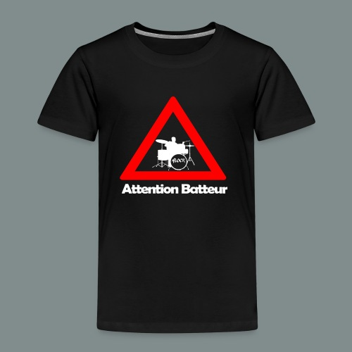 Attention batteur - T-shirt Premium Enfant
