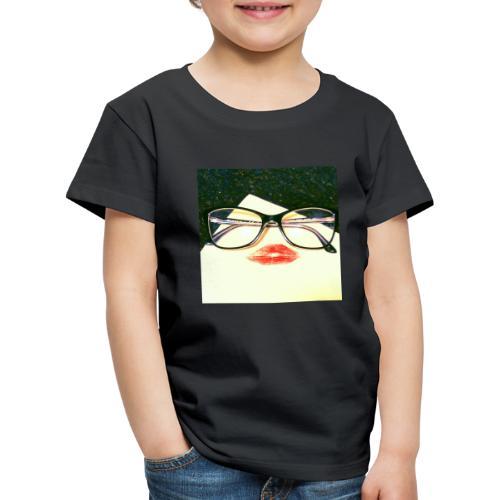 Red lips secretary - Maglietta Premium per bambini
