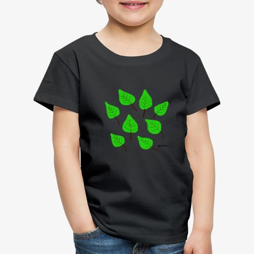 Lehdet - Lasten premium t-paita