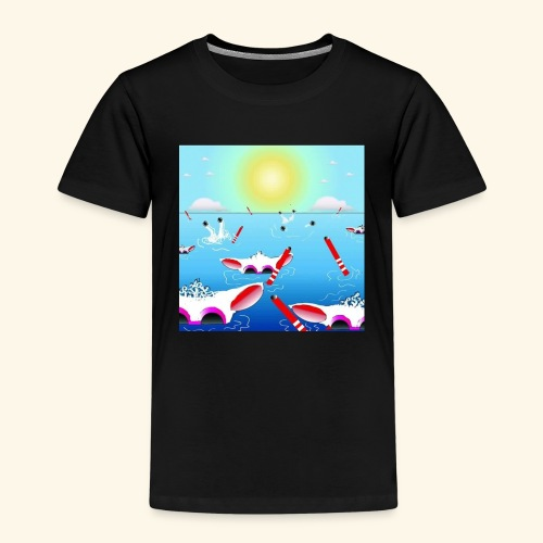 SHEEPLAKECOMIC - Kinder Premium T-Shirt