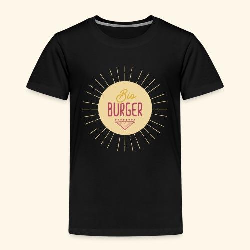 BIO BURGER - Logo - Kinder Premium T-Shirt