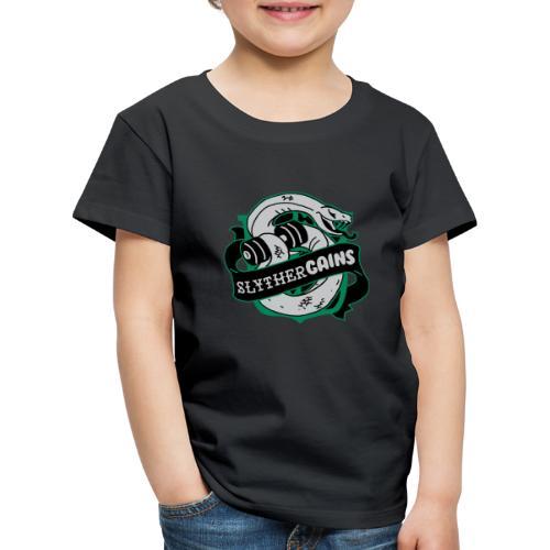 Hogweights Swolecraft Liftery Slythergains - Kinder Premium T-Shirt