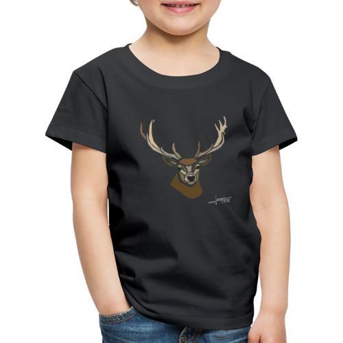 cerf-spread - T-shirt Premium Enfant