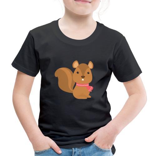 The Squirrel - Winter Animals - Maglietta Premium per bambini