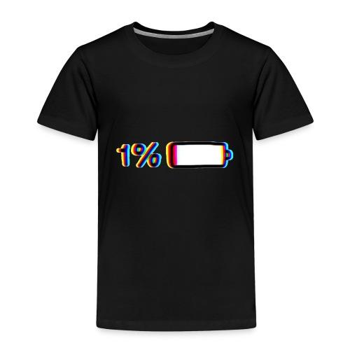 1% - Camiseta premium niño