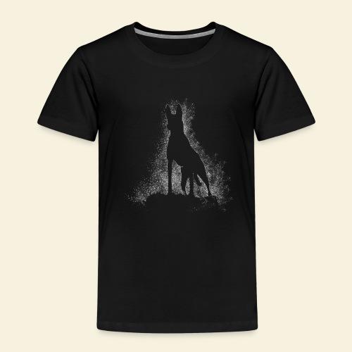 Dog Silhouette - Kinder Premium T-Shirt