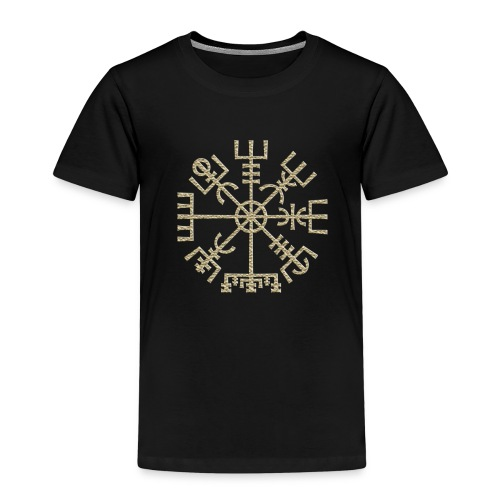 Vegvisir-The-Runic-Viking or - T-shirt Premium Enfant