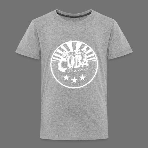 Cuba Libre (1c white) - Kinder Premium T-Shirt