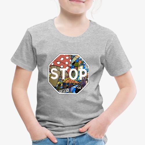 panneau stop pidraw - T-shirt Premium Enfant