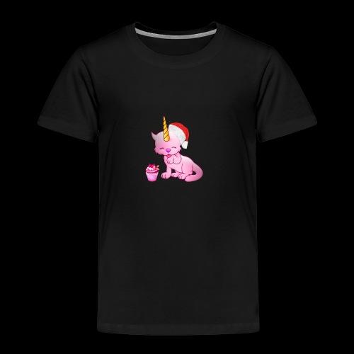 Licorne père noël - T-shirt Premium Enfant