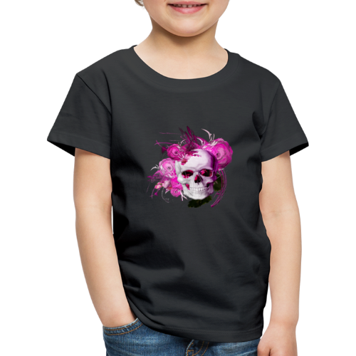 Pink fantasy skull - Premium-T-shirt barn