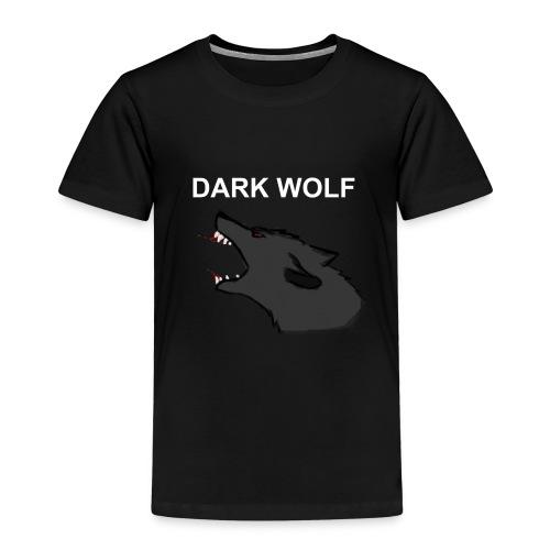 DARK WOLF - Børne premium T-shirt