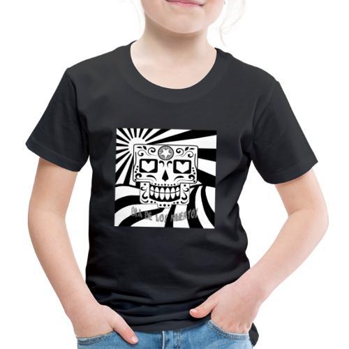 dia de los muertos - Kinder Premium T-Shirt