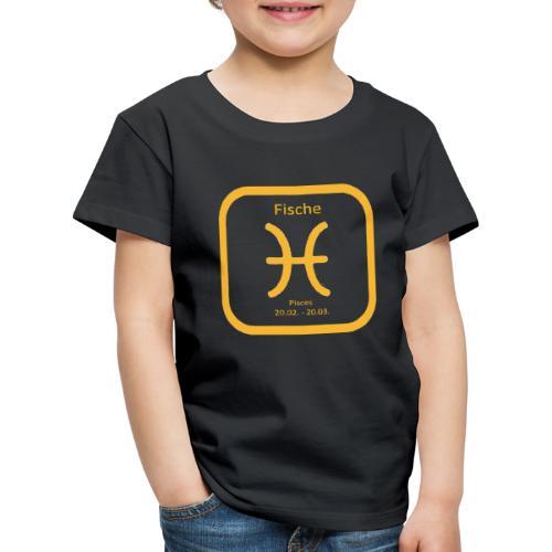 Horoskop fish12 - Koszulka dziecięca Premium