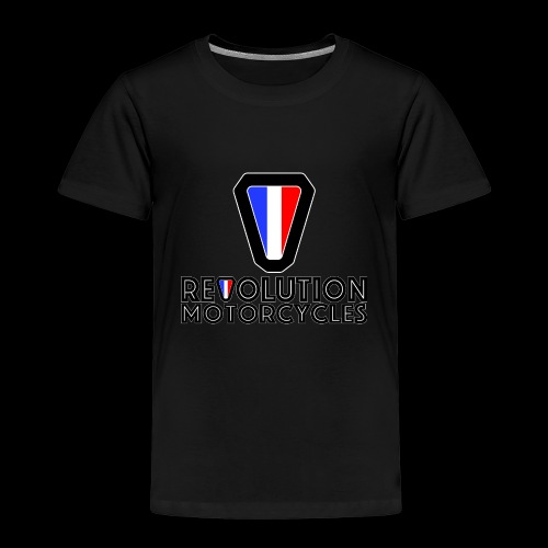 V and Text - T-shirt Premium Enfant