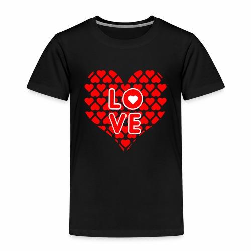 Liebe Valentienstag - Kinder Premium T-Shirt