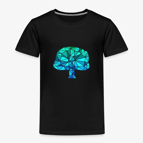 Low-Poly Tree G&B - Kinderen Premium T-shirt