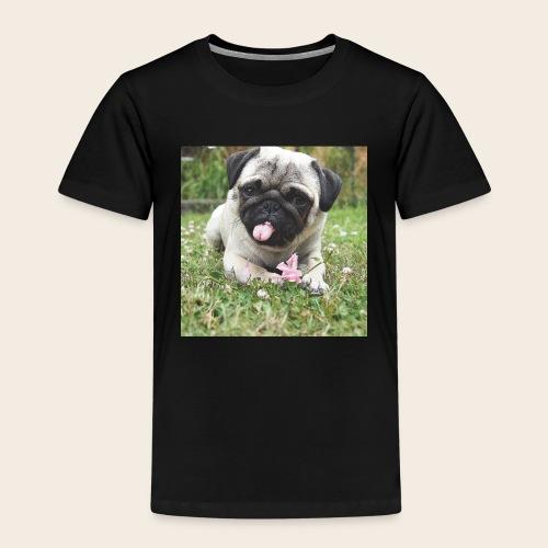 Mops Wiese - Kinder Premium T-Shirt