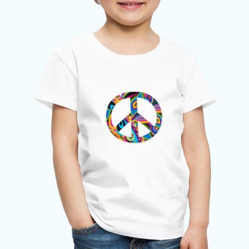 70s vintage hippie - Kids' Premium T-Shirt
